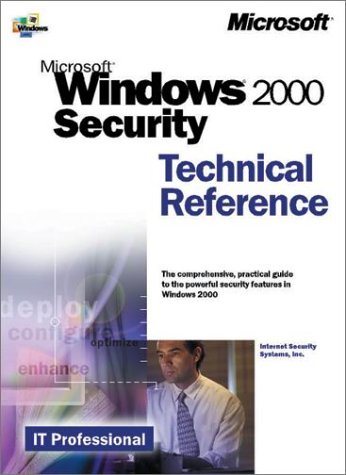 Microsoft Windows 2000 Security Technical Reference 9780735608580