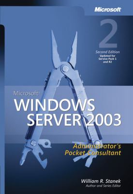 Microsoft Windows Server 2003 Administrator's Pocket Consultant 9780735622456