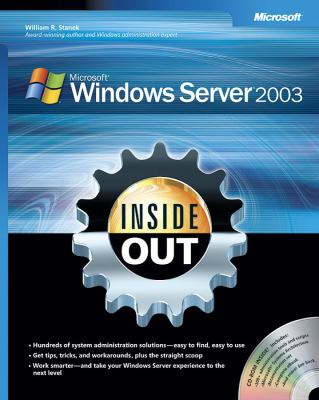 Microsoft Windows Server 2003 Inside Out [With CD-ROM] 9780735620483
