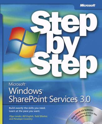 Microsoft Windows SharePoint Services 3.0 Step by Step [With CDROM] 9780735623637