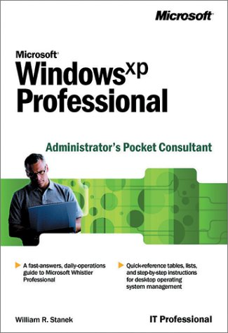 Microsoft Windows XP Professional Administrator's Pocket Consultant 9780735613812