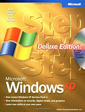 Microsoft Windows XP Step by Step, Deluxe Edition [With CDROM] 9780735616318
