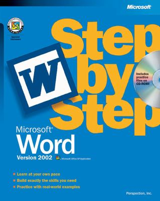 Microsoft Word Version 2002 Step by Step [With CDROM] 9780735612952