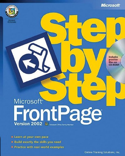 Microsoft FrontPage Version 2002 Step by Step [With CDROM]