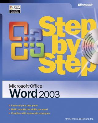 Microsoft Office Word 2003 Step by Step [With CDROM] 9780735615236