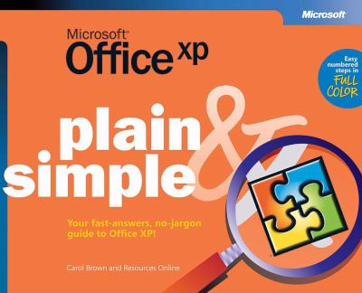 Microsoft(r) Office XP Plain & Simple