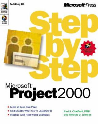 Microsoft(r) Project 2000 Step by Step [With] 9780735609204