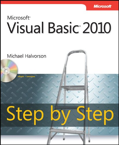 Microsoft Visual Basic 2010 Step by Step 9780735626690