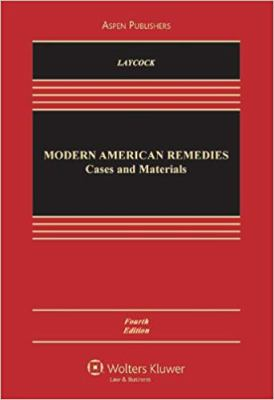 Modern American Remedies: Cases and Materials 9780735572010