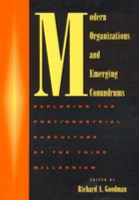 Modern Organizations and Emerging Conundrums: Exploring the Postindustrial Subculture of the Third Millennium 9780739100011