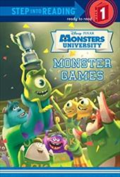 Monster Games (Disney/Pixar Monsters University) (Step into Reading) 21426697