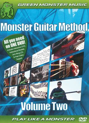 Monster Guitar Method, Volume 2 9780739059654