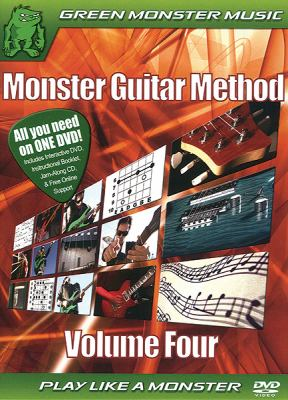 Monster Guitar Method, Volume 4 9780739059678