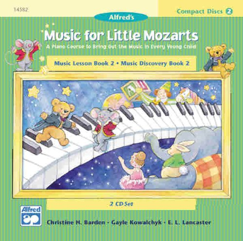 Music for Little Mozarts: Music Lesson Book 2-Music Discovery Book 2 9780739005910