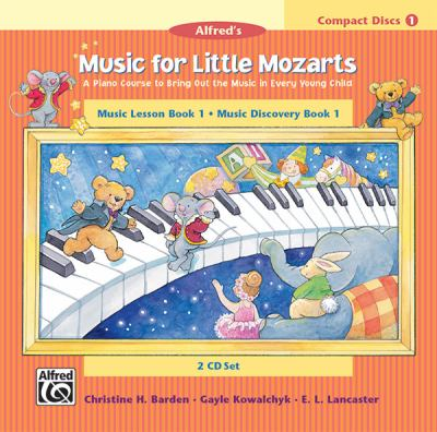 Music for Little Mozarts: Music Lesson Book 1: Music Discovery Book 1 9780739003756