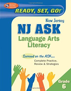 NJ ASK Language Arts Literacy, Grade 6 9780738605135