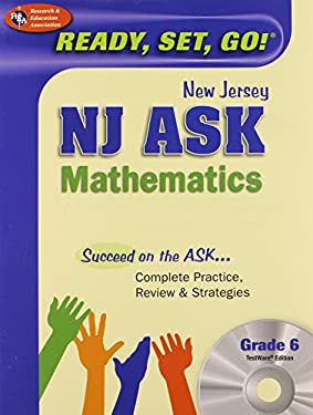 New Jersey NJ Ask Mathematics, Grade 6 [With CDROM] 9780738605579