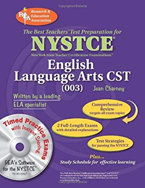 NYSTCE English Language Arts CST (003) [With CDROM] 9780738604572