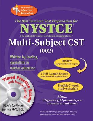 NYSTCE Multi-Subject CST Content Specialty Test 002 [With CDROM] 9780738602561