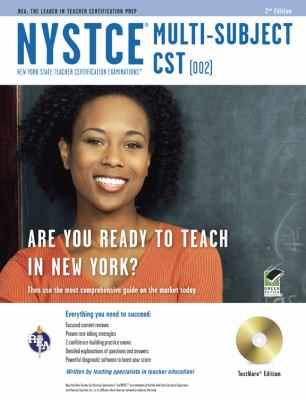 Nystce Multi-Subject Cst (002), Testware Edition: New York State Teacher Certification Examinations [With CDROM] 9780738609966