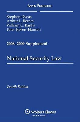 National Security Law: Supplement 9780735573598