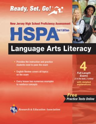 New Jersey HSPA Language Arts Literacy 9780738608457