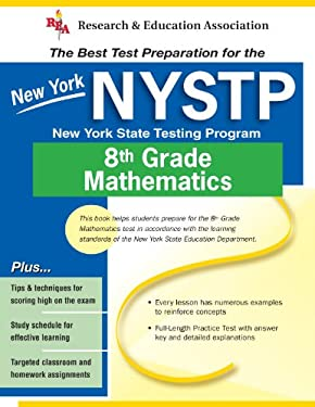 New York State Grade 8 Math (Rea) - The Best Test Prep for the New York State Grade 8 Math Test 9780738600277