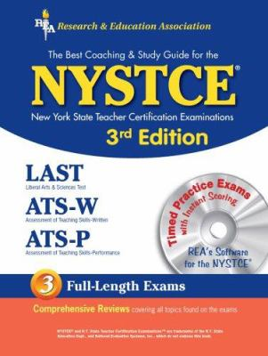 Nystce (Rea) - New York State Teacher Certification Exams [With CD for Windows] 9780738600079