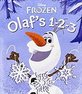 Olaf's 1-2-3 (Disney Frozen) (Glitter Board Book) 22143580