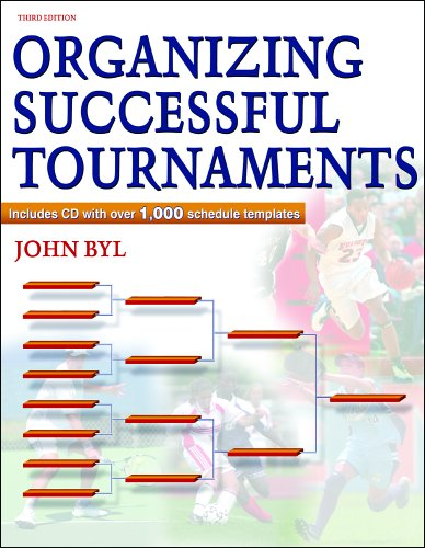 Organizing Successful Tournaments - 3rd Edition 9780736059527