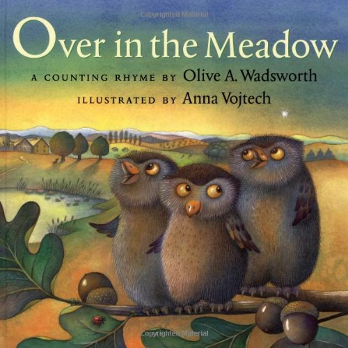 Over in the Meadow : A Counting Rhyme