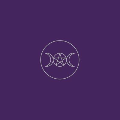 Pagan Circle Velvet Cloth