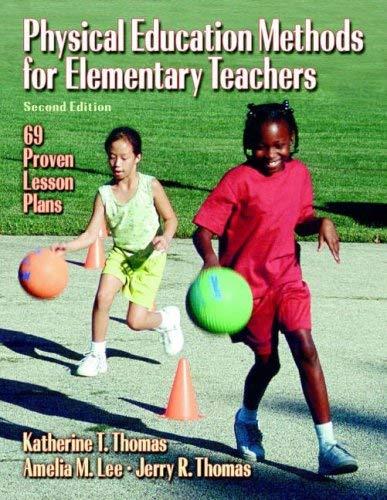 Physical Education Methods for Elementary Teachers 9780736062367
