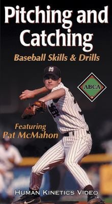 Pitching and Catching: Baseball Skills and Drills Ntsc Video 9780736037433