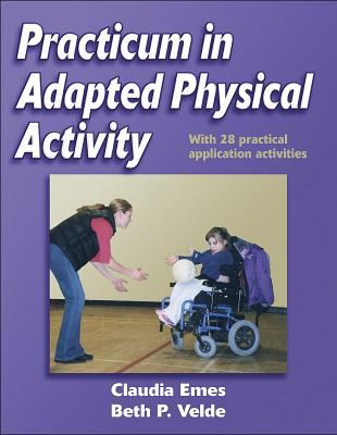 Practicum in Adapted Physical Activity 9780736045612