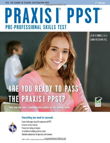 Praxis I PPST (Pre-Professional Skills Test) (Rea) 9780738608808