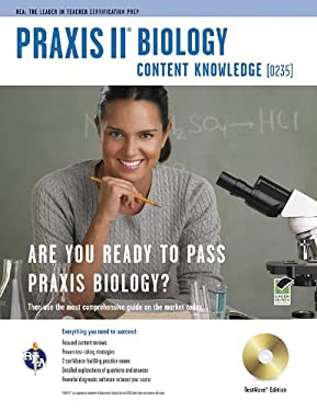 Praxis II Biology Content Knowledge (0235) [With CDROM] 9780738607740