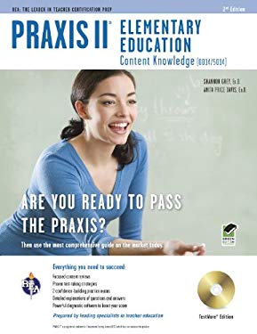 Praxis II Elementary Education, TestWare Edition: Content Knowledge (0014/5014) [With CDROM]