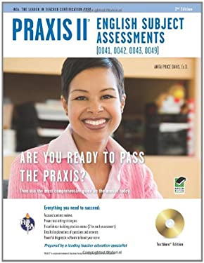 Praxis II English Subject Assessments (0041, 0042, 0043, 0049), Testware Edition [With CDROM] 9780738609508