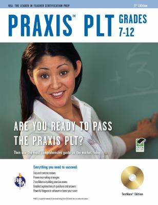 Praxis PLT Grades 7-12, TestWare edition [With CDROM] 9780738609522