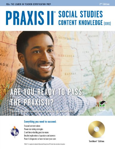 Praxis II Social Studies Content Knowledge (0081) W/CD 2/E 9780738609553