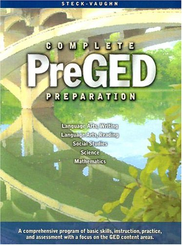 Steck-Vaughn Pre-GED: Student Edition 2004 9780739887851