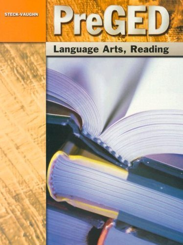 Steck-Vaughn Pre-GED: Student Edition Language Arts, Reading 9780739866979