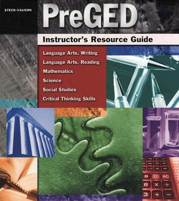 PreGED Instructor's Resource Guide 9780739880623