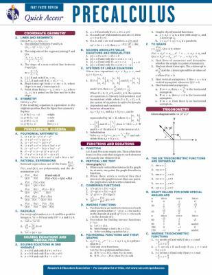 Precalculus 9780738607450