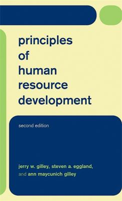 Principles of Human Resource Development Second Edition 9780738206042