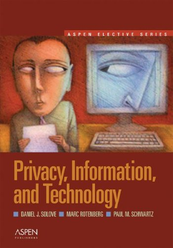Privacy, Information, and Technology 9780735562455