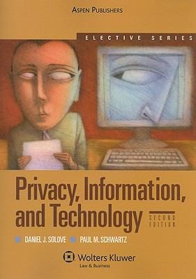Privacy, Information, and Technology 9780735579101