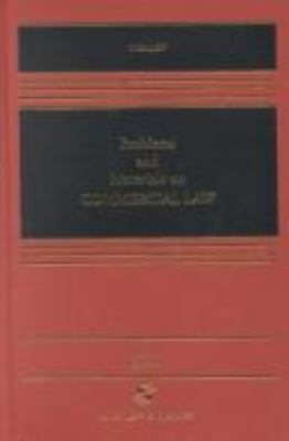 Problems and Materials on Commercial Law, Sixth Edition [With Teacher's Manual] 9780735512375