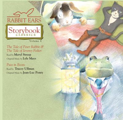 Rabbit Ears Storybk4(lib)(CD) 9780739337615